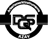 Logo AZAV-schwarz